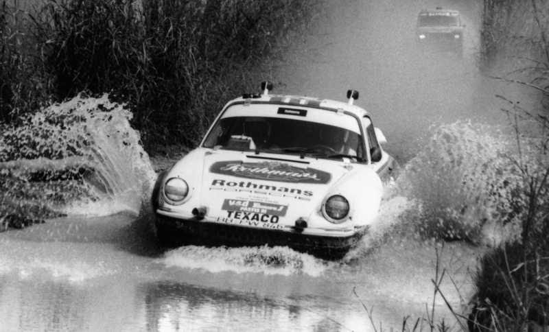 Porsche Safari Rally
