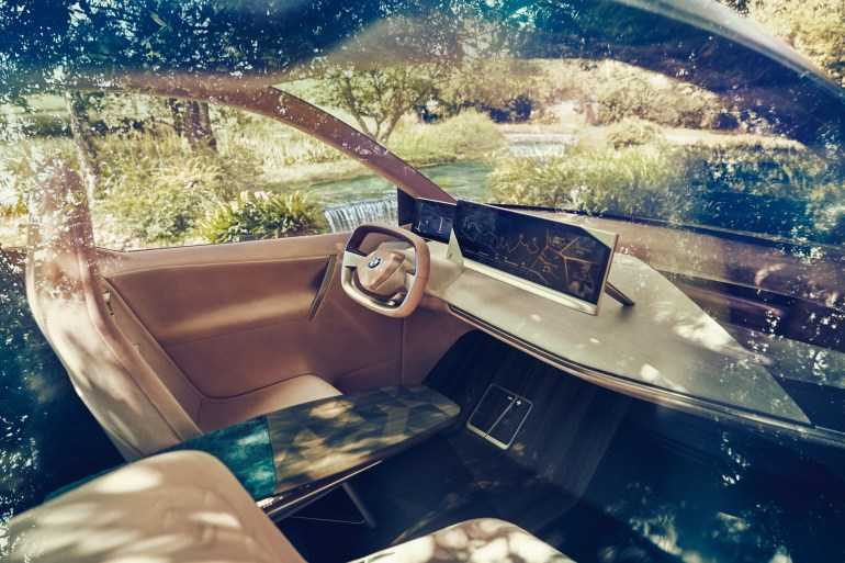 BMW Vision iNEXT electric crossover interior
